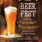 Free Beer Fest Flyer Template