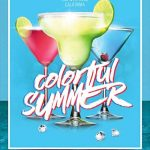 Free Colorful Summer Party Flyer Template