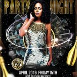 Free Elegant Club Party Flyer Template