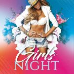 Free Girls Night Poster and Flyer Template