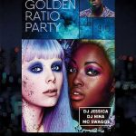 Free Golden Ratio Party Flyer Template