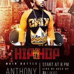 Free Hip-Hop Battle Poster and Flyer Template