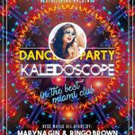 Free Kaleidoscope Dance Party Flyer and Poster Template
