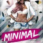 Free Minimal Electro Music Night Flyer Template