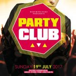 Free Party Club Flyer and Poster Template
