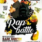 Free Rap Battle Flyer and Poster Template