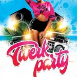 Free Summer Beach Party Flyer and Poster Template