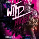 Free Wild Night Party Flyer Template