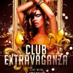 Club Extravaganza Party Free Flyer Template