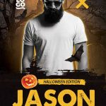 DJ Artist Halloween Edition Free Flyer Template