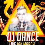 DJ Dance Party Free Flyer Template