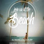 Join us at the Beach Party Free Flyer Template