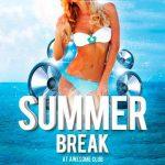 Summer Break Party Free Flyer Template