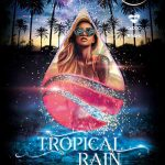 Tropical Rain Party Free Flyer Template