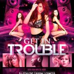 Trouble Club Party Free Flyer Template
