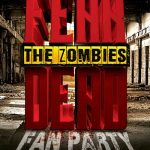 Zombie Horror Party Free Flyer Template