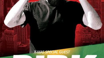 Exclusive X-Mas DJ Party Free Flyer Template