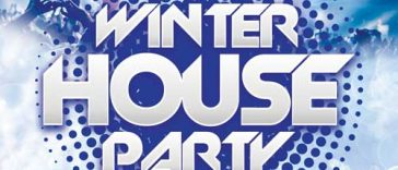 Exclusive Winter House Party Free Flyer Template